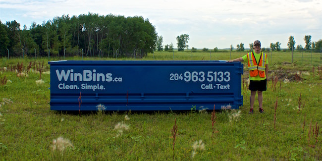 Winnipeg Bin & Dumpster Rentals by WinBins - win bins winnipeg bin and dumpster rental 12 yard bin 2.7e91c68b