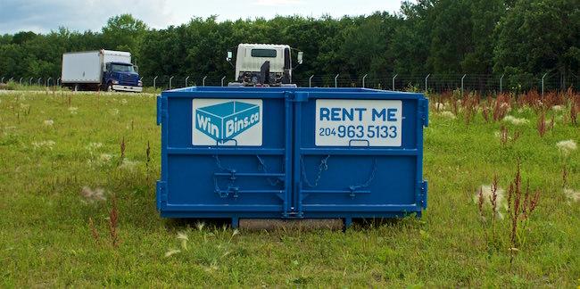 Winnipeg Bin & Dumpster Rentals by WinBins - win bins winnipeg bin and dumpster rental 12 yard bin 3.20cb3ee7