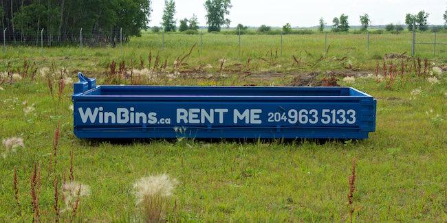 Winnipeg Bin & Dumpster Rentals by WinBins - win bins winnipeg bin and dumpster rental 4 yard bin 1.4128afd2